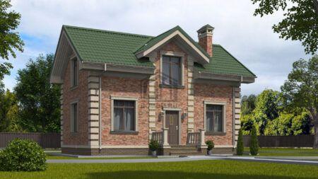 Дом 100 кв м 1