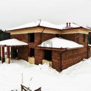 дом из керамических блоков porotherm