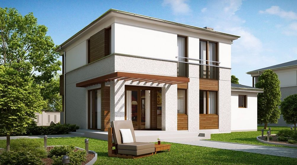 Проект европейского дома 1