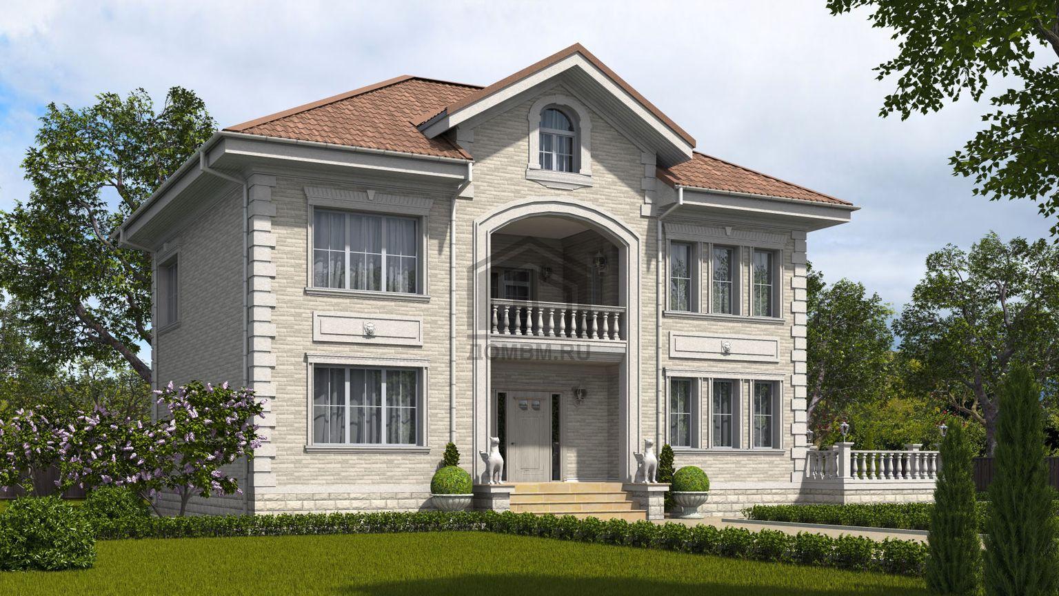 готовый проект дома 1