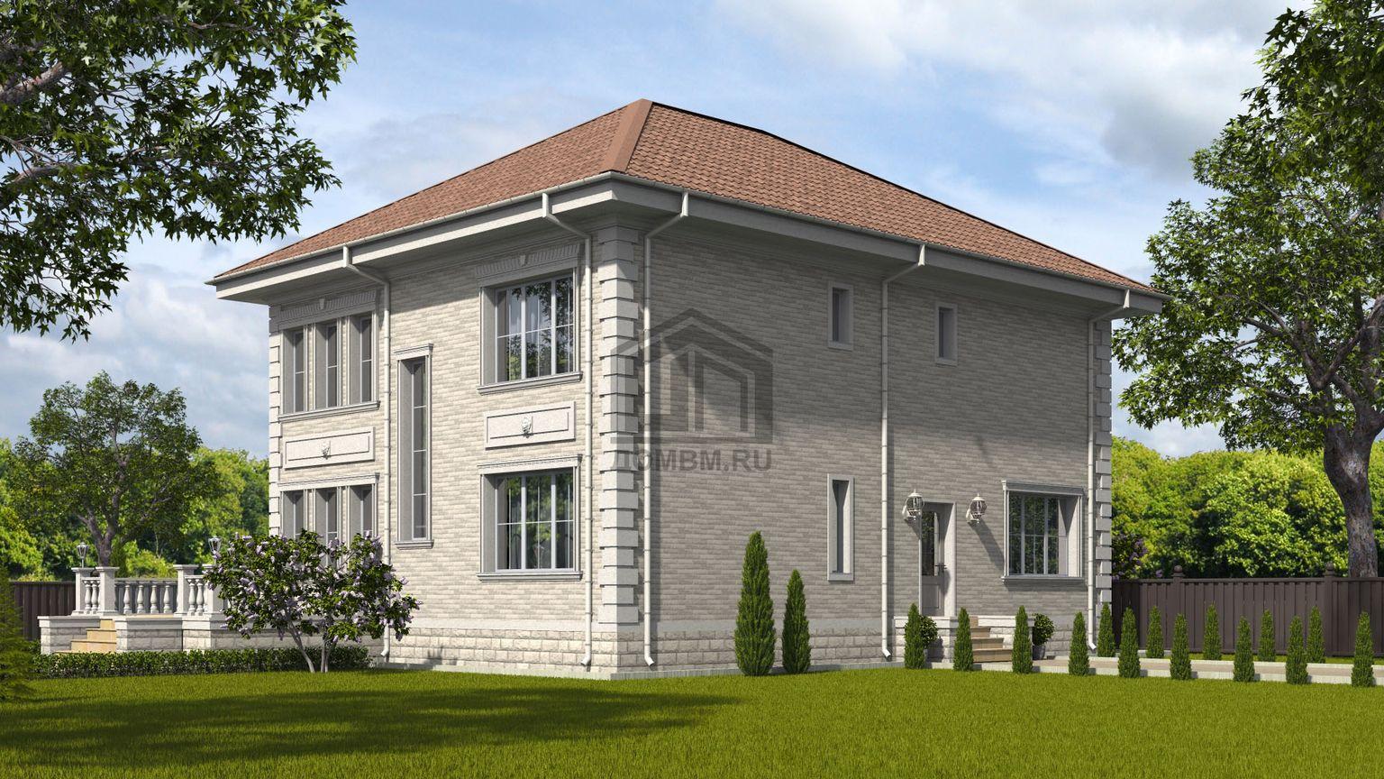 готовый проект дома 3