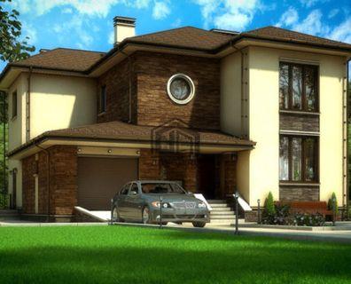 Проект дома из блоков
