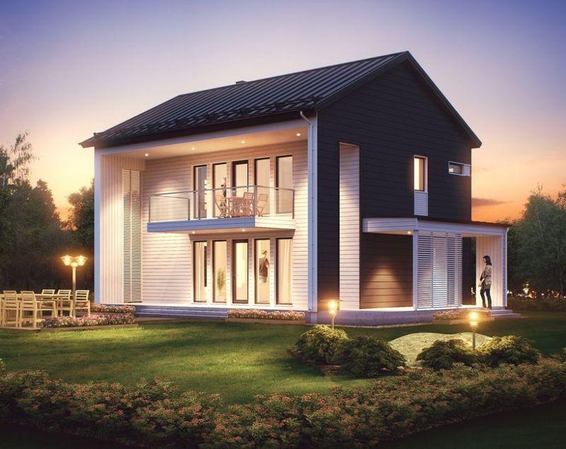 Проект финского деревянного дома
