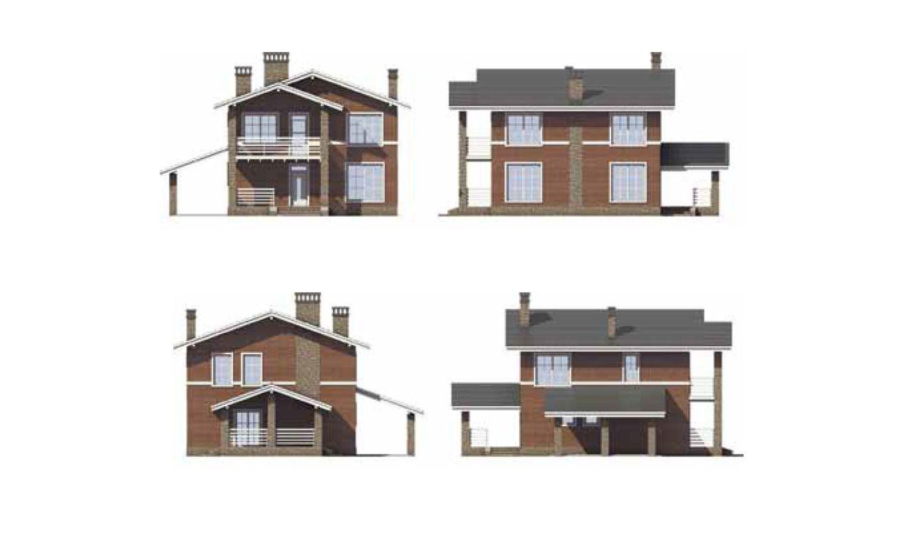 Проект небольшого дома 1
