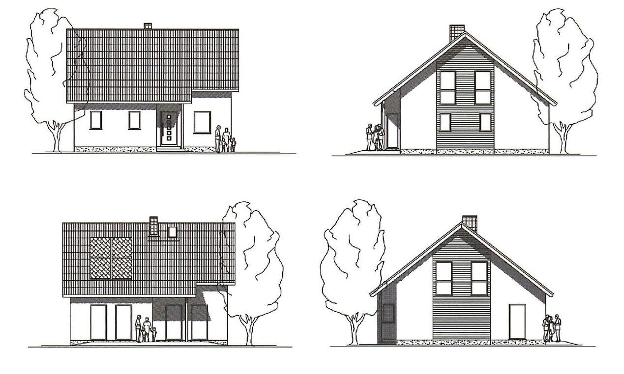 Проект европейского дома 2