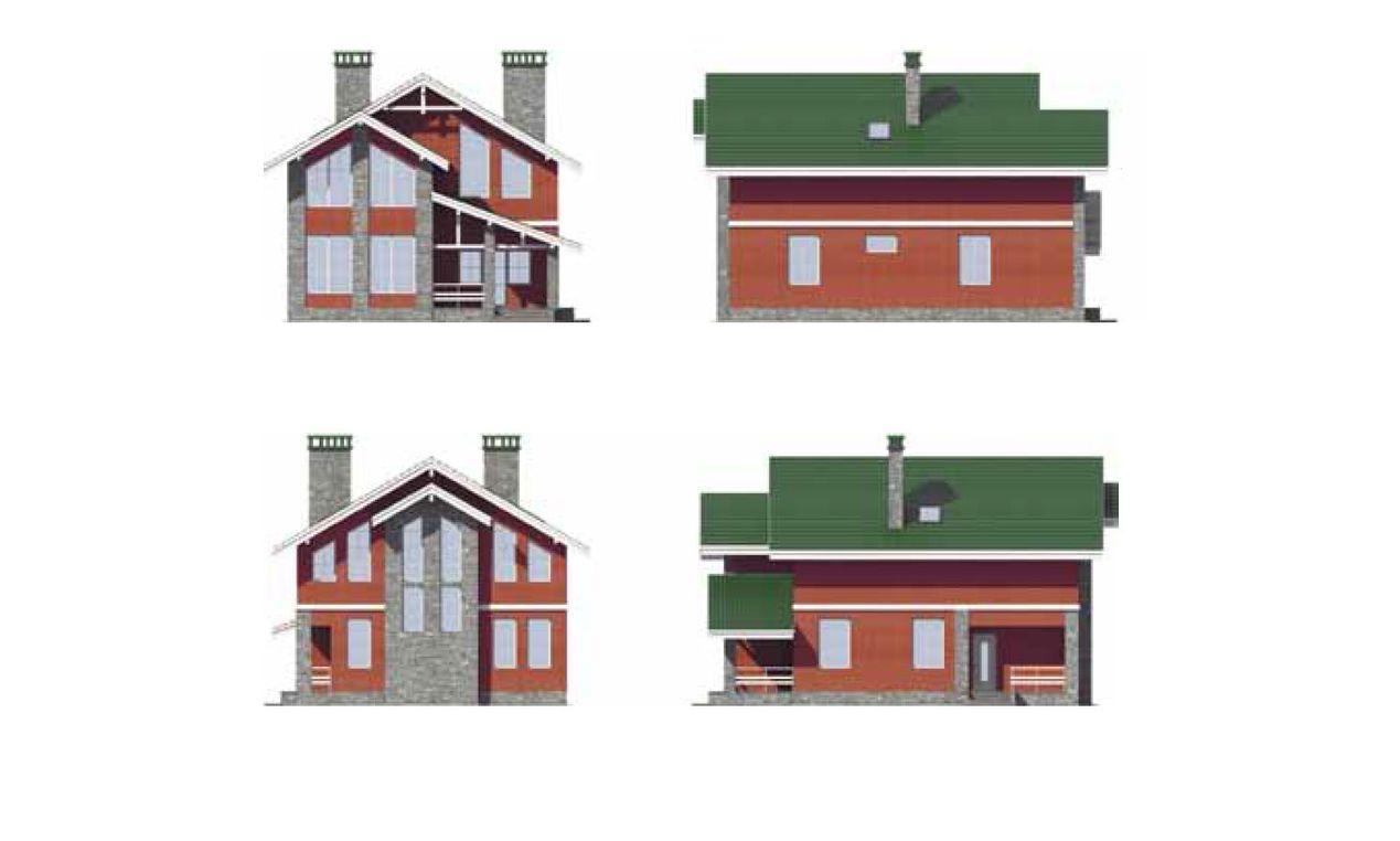 Проект дома с чертежом 1