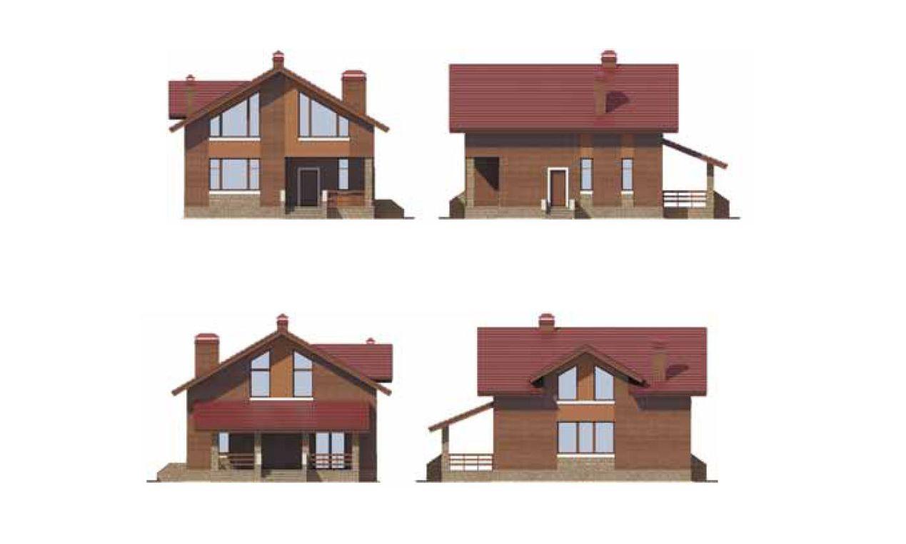 Проект дома с фото 1