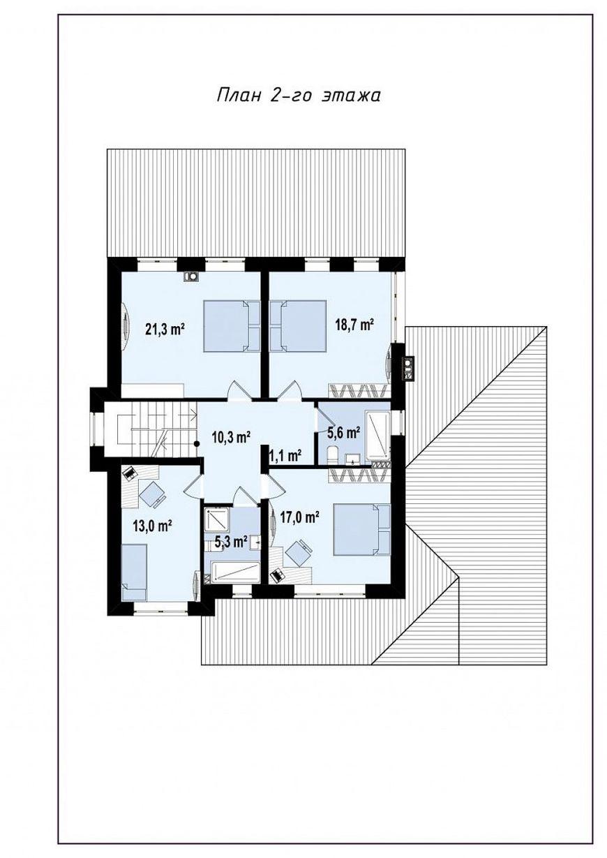 Проект дома в европейском стиле 5
