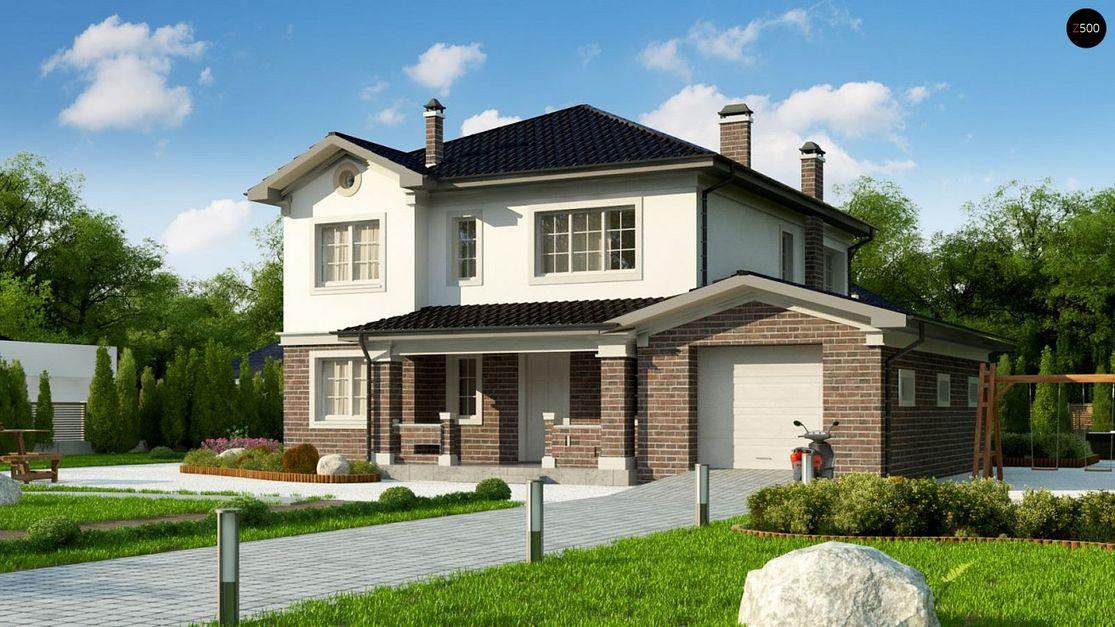 Проект дома в европейском стиле
