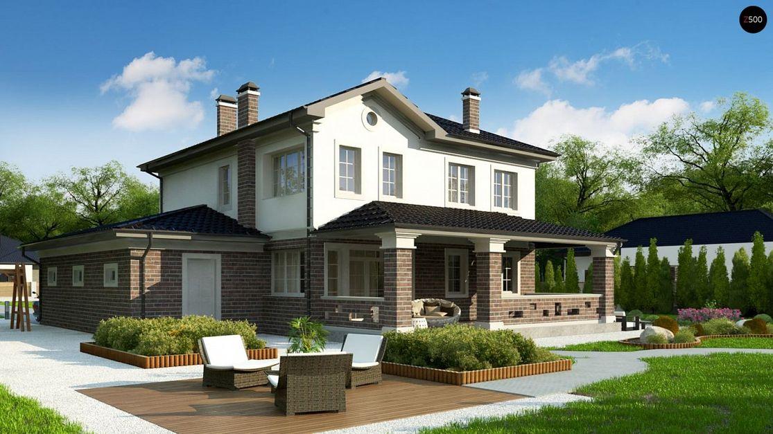 Проект дома в европейском стиле 3