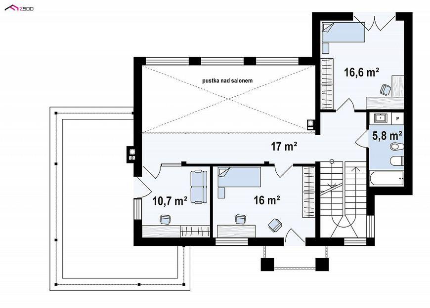 Проект дома в стиле минимализма 5